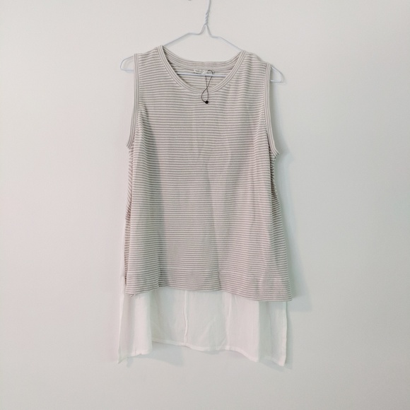 8778f922 Zara Tops | Nwot Striped Tunic Top | Poshmark